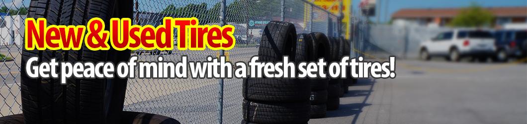Fresh Change of Tires, Barry Lee's Automotive - Norfolk, VA