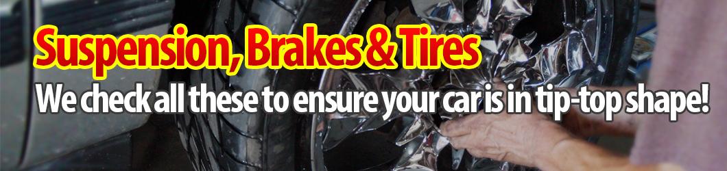 Suspension, Brakes & Tires, Barry Lee's Automotive - Norfolk, VA